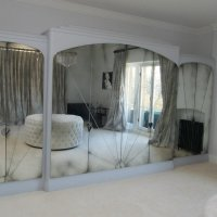 Antique Mirror Walls