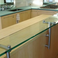 Countertops with Standoffs